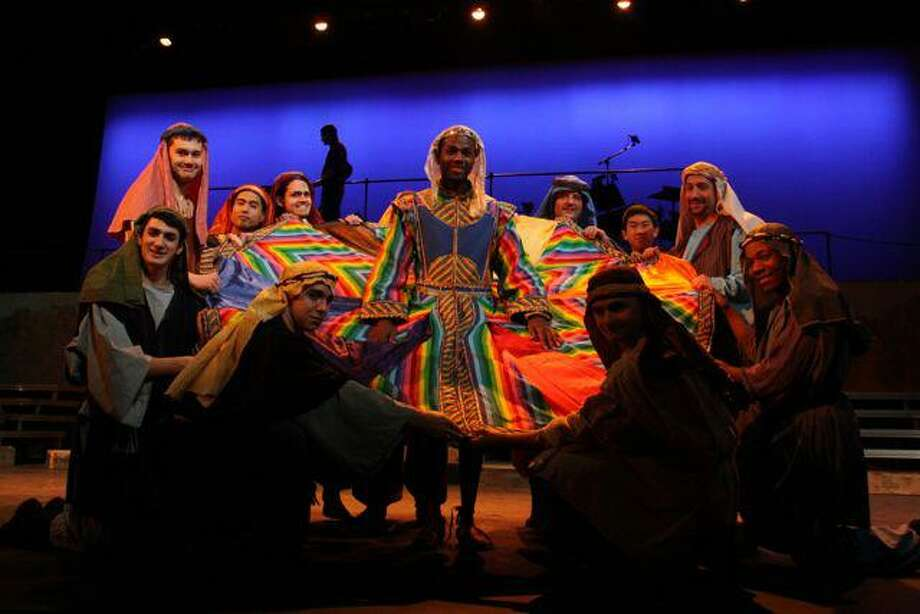 Submitted photo A scene from 'Joseph and the Amazing Technicolor Dreamcoat' which continues this weekend for three final performances at the Warner Theatre in Torrington.