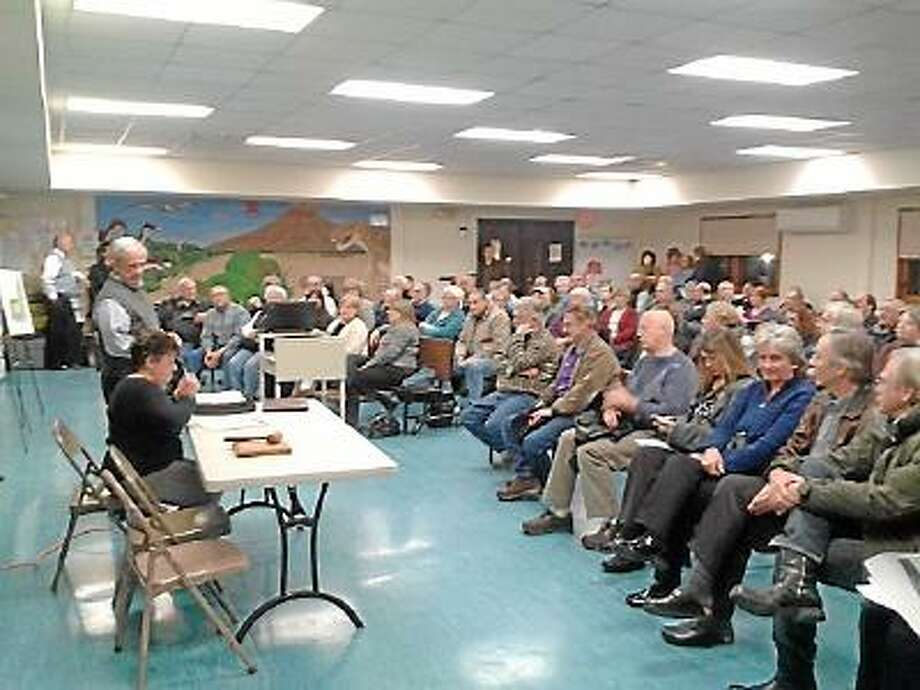 Barkhamsted voters approved a tax abatement on Wednesday, Feb. 6 for the builders of a Route 44 medical center during a special town meeting.
