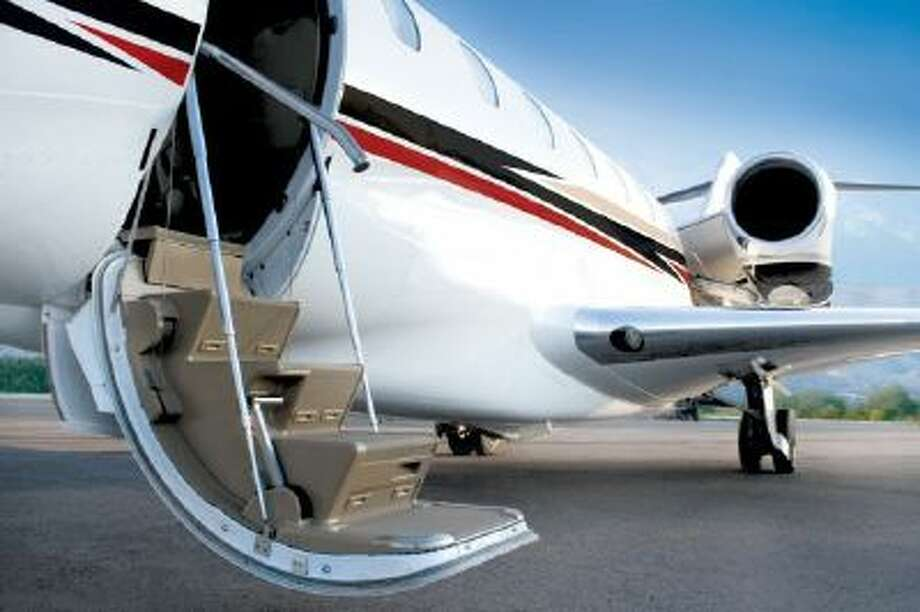 A business jet trade show opens in Las Vegas Tuesday for three days.