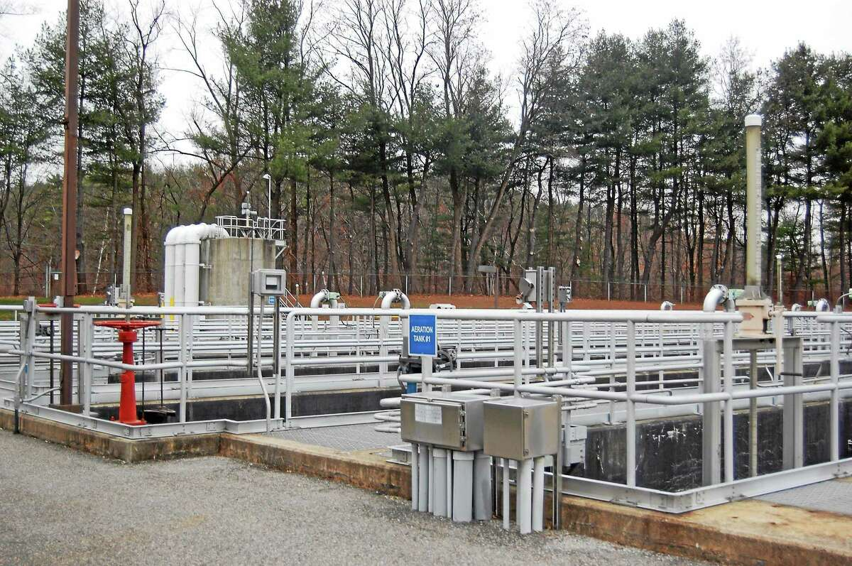 Pipes used by the advanced wastewater treatment facility operated by the Water Pollution Control Authority Nov. 26, 2013 in Torrington.