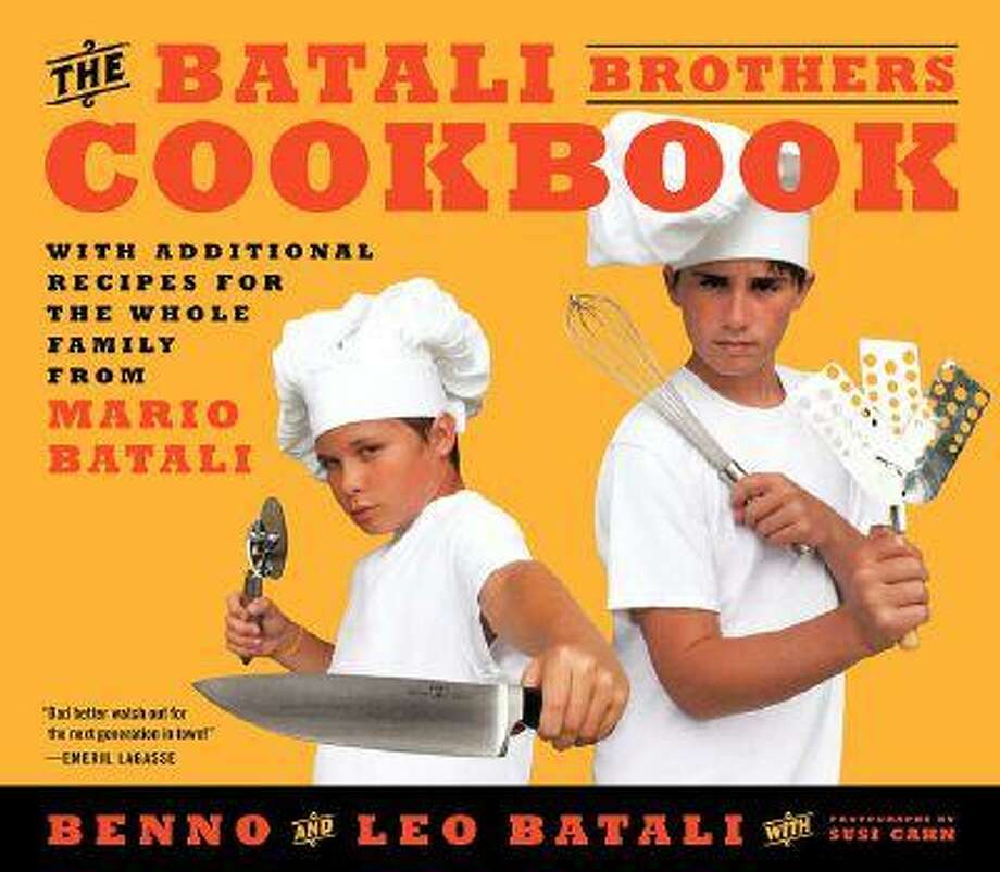 Celebrity chef Mario Batali's teenage sons have just released their first cookbook.