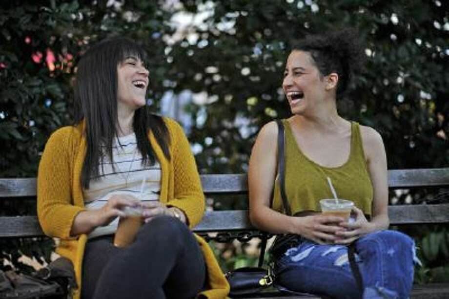 "Abbi Jacobson, left, and Ilana Glazer star in Comedy Central's ""Broad City,"" which premieres Jan. 22."