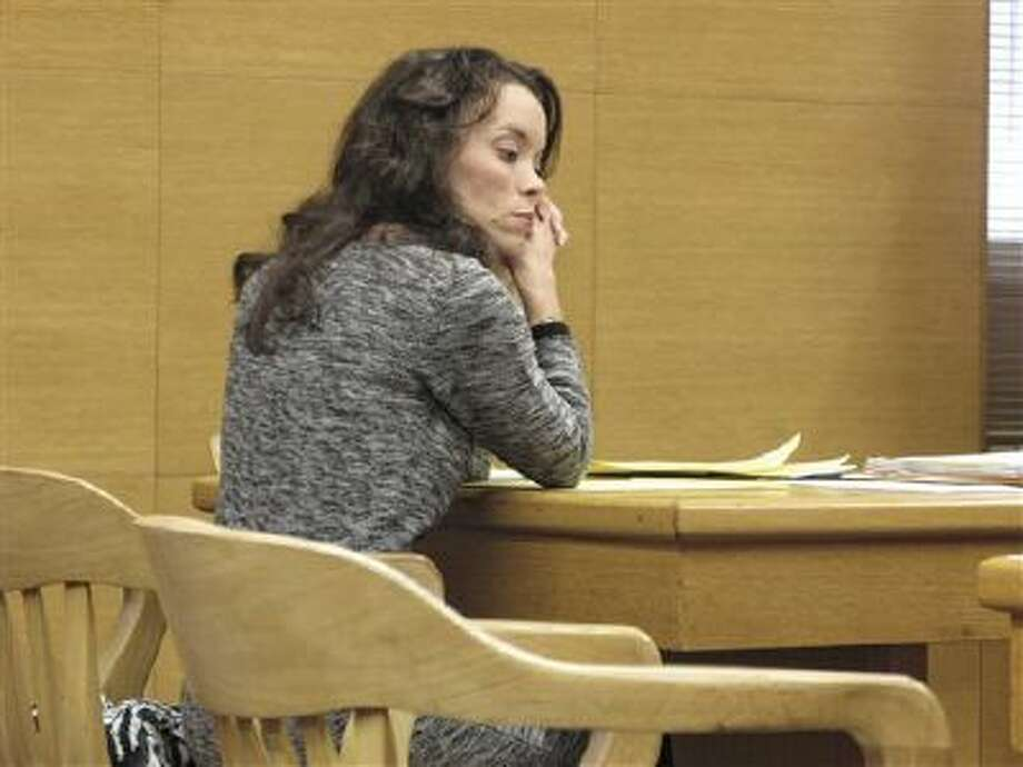 Lynnett Gorman sits in court Jan. 8 in Steubenville, Ohio. Gorman, an elementary school official, will perform community service related to rape awareness in exchange for prosecutors dropping a charge that she failed to report rumors of a teenage sex and drinking party. Photo: AP / Steubenville Herald Star