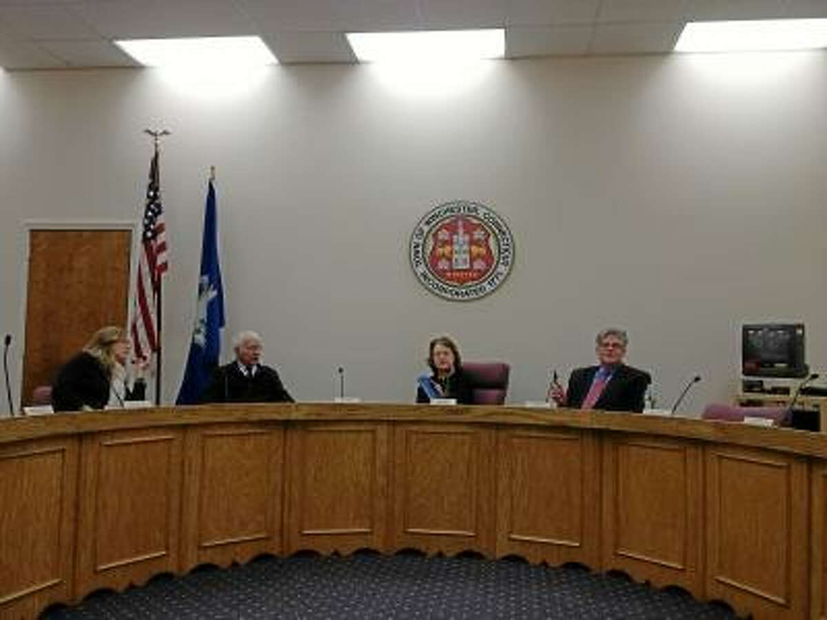 JASON SIEDZIK/Register Citizen Winsted officials continued their budget discussions on Tuesday night.