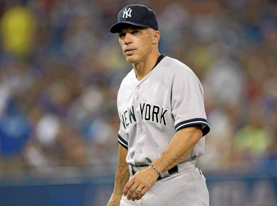 Yankee manager Joe Girardi. Photo: Frank Gunn — The Associated Press  / The Canadian Press