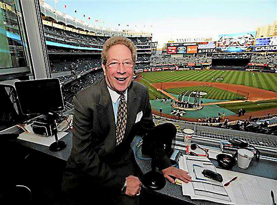 New York Yankees broadcaster John Sterling. Photo: Bill Kostroun — The Associated Press  / AP2009