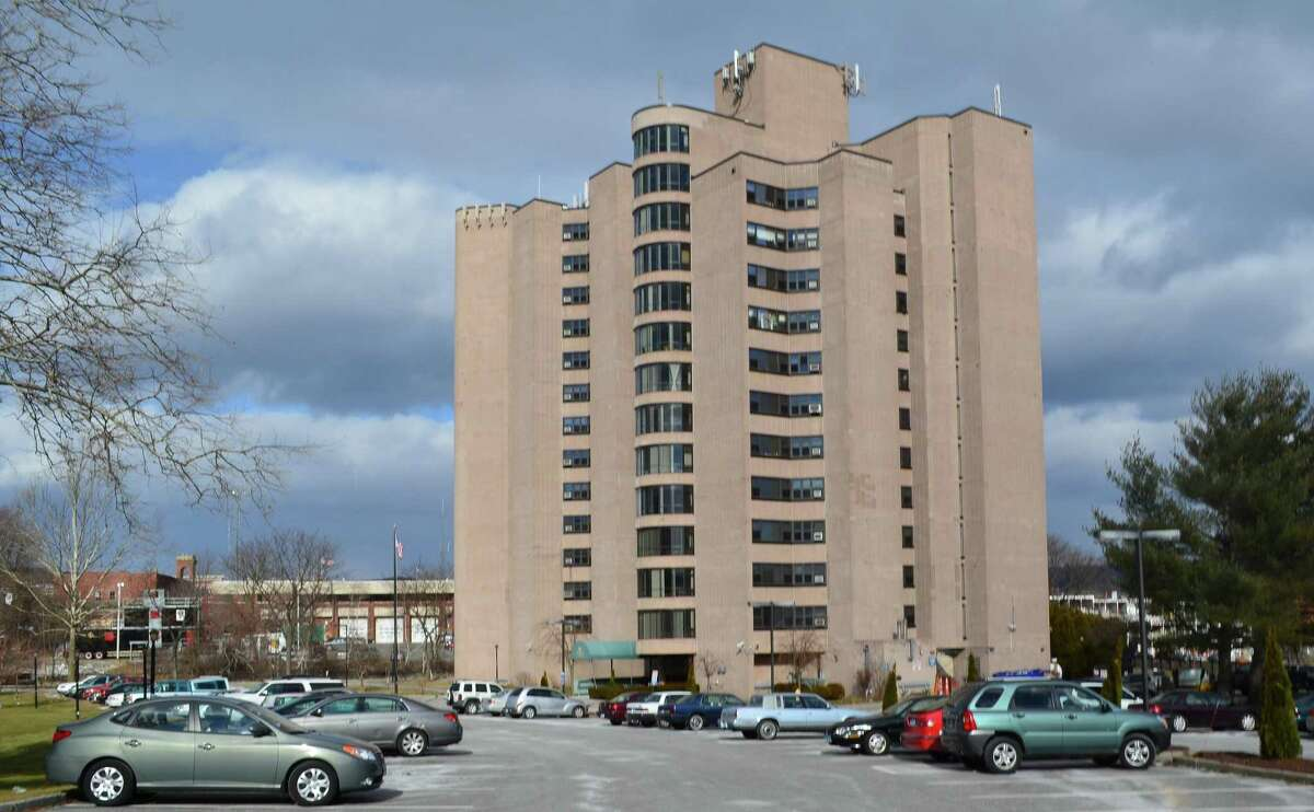 Torrington Towers apartments on Summer Street. (Tom Cleary/Register Citizen)