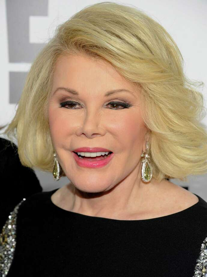 FILE - In this April 30, 2012 file photo, Joan Rivers attends an E! Network event in New York. Photo: (AP Photo/Evan Agostini, File) / AGOEV