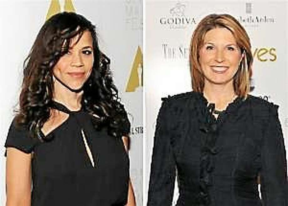 """Rosie Perez and Nicolle Wallace will take over the final two co-host seats on """"The View."""" They join Whoopi Goldberg and Rosie O'Donnell. Photo: (Getty Images)"""