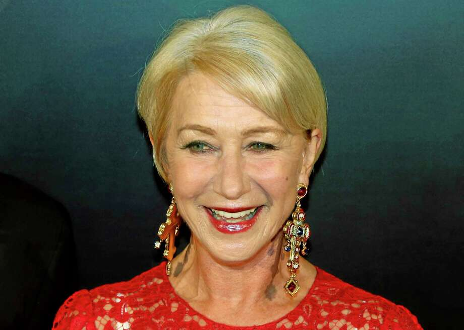 FILE - In this Oct. 17, 2013 file photo, British actress Helen Mirren attends the 50th Anniversary of Mandarin Oriental Hotel in Hong Kong. Mirren was named Friday, Jan. 17, 2014, as Harvard University's Hasty Pudding Theatricals 2014 Woman of the Year. (AP Photo/Kin Cheung, File) Photo: AP / AP