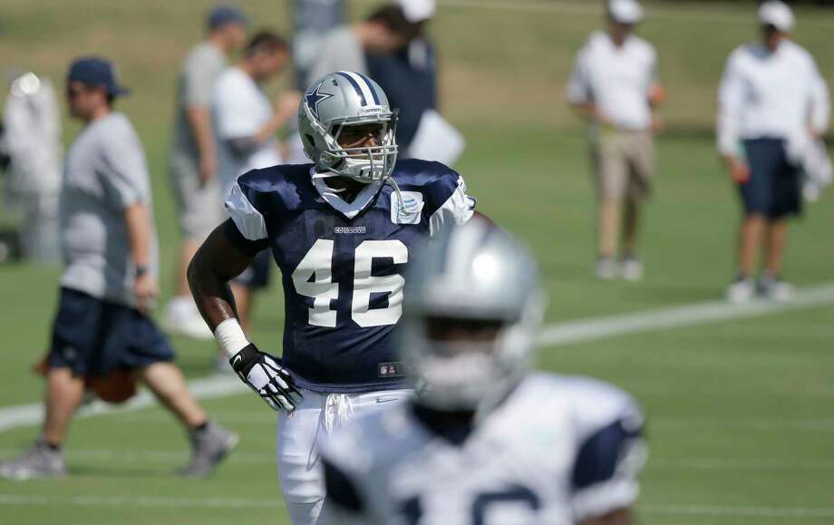 Rookie defensive end Michael Sam joined the Dallas Cowboys' practice squad on Wednesday. Photo: LM Otero — The Associated Press  / AP