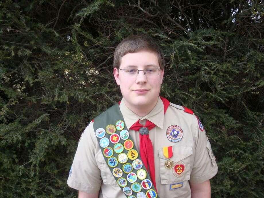 Bantam Boy Scout Troop 29 member Michael Murphy Jr.