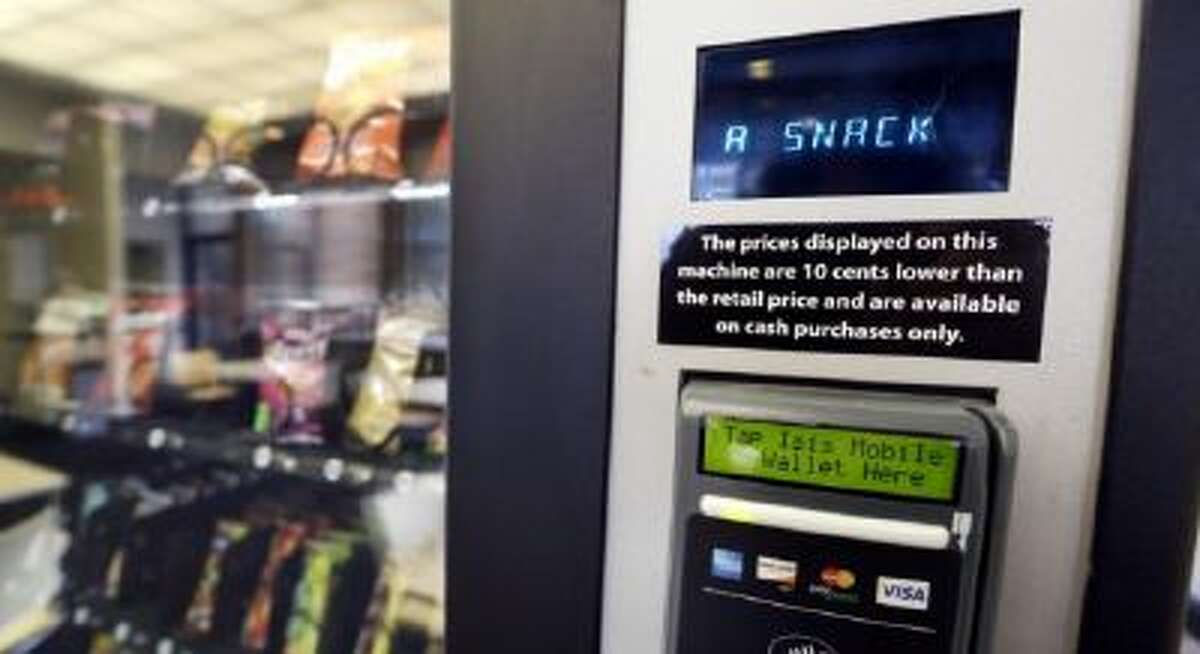 Pictured above, is a snack vending machine. Marijuana vending machines could come to dispensaries in the not too distant future.