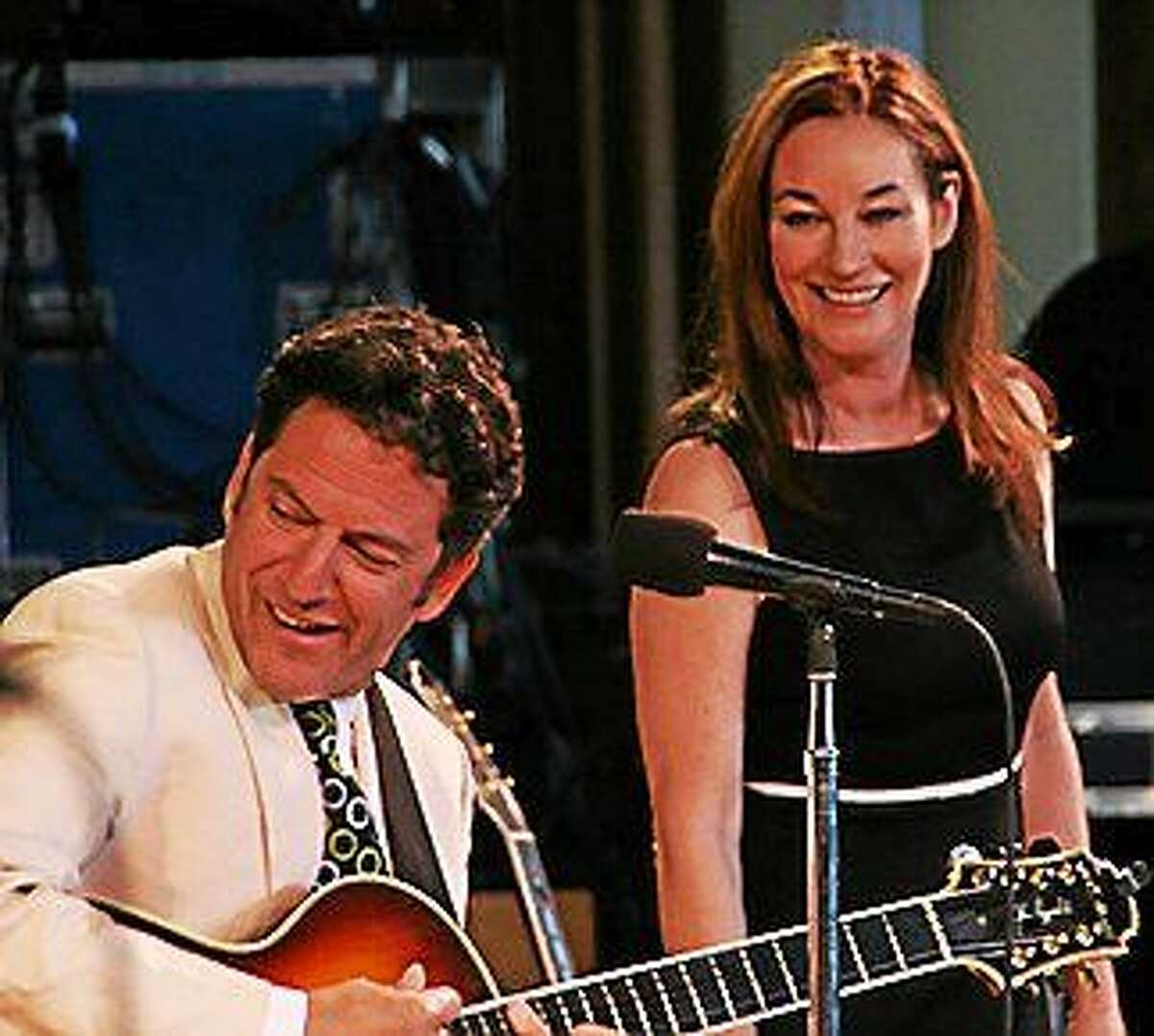 Submitted photo - New England Arts & Entertainment On Friday September 19, the Fall Jazz Series from New England Arts & Entertainment kicks off at the Palace Theater Poli Club with John Pizzarelli & Jessica Molaskey.