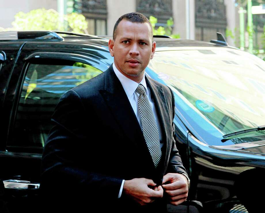 New York Yankees third baseman Alex Rodriguez said late Wednesday he feels the year-long suspension he received may turn out to be beneficial for him. Photo: David Karp — The Associated Press  / FR50733 AP