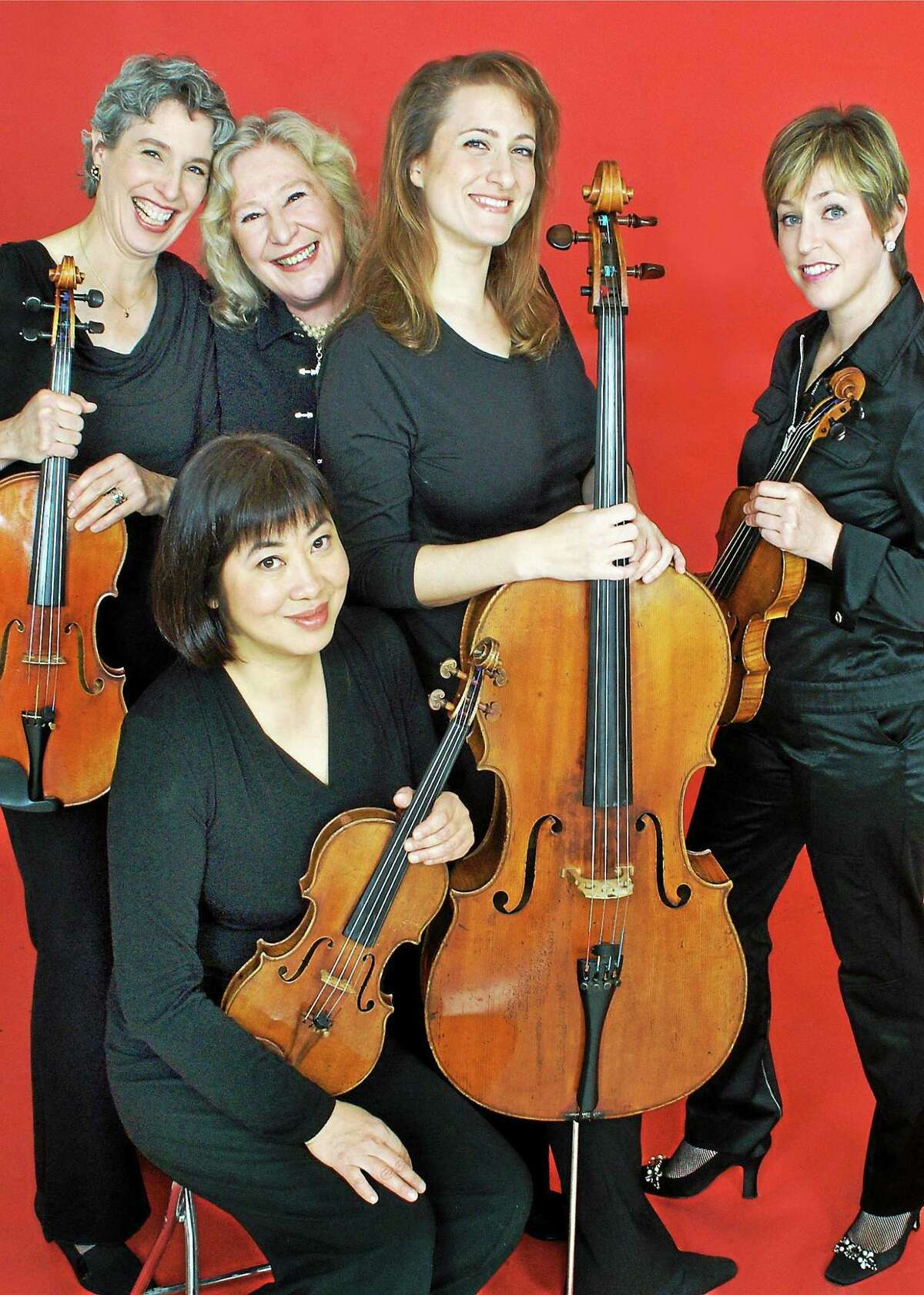 Submitted photo The Cassat String Quartet headlines the entertainment at Music Mountain next weekend.