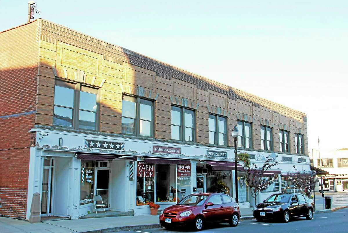 The building on 43 Main St. owned by the Torrington Downtown Partners is one of six that will have its facade renovated.
