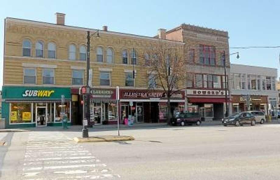 Ryan Flynn/Register Citizen -- A section of the heart of downtown Torrington.