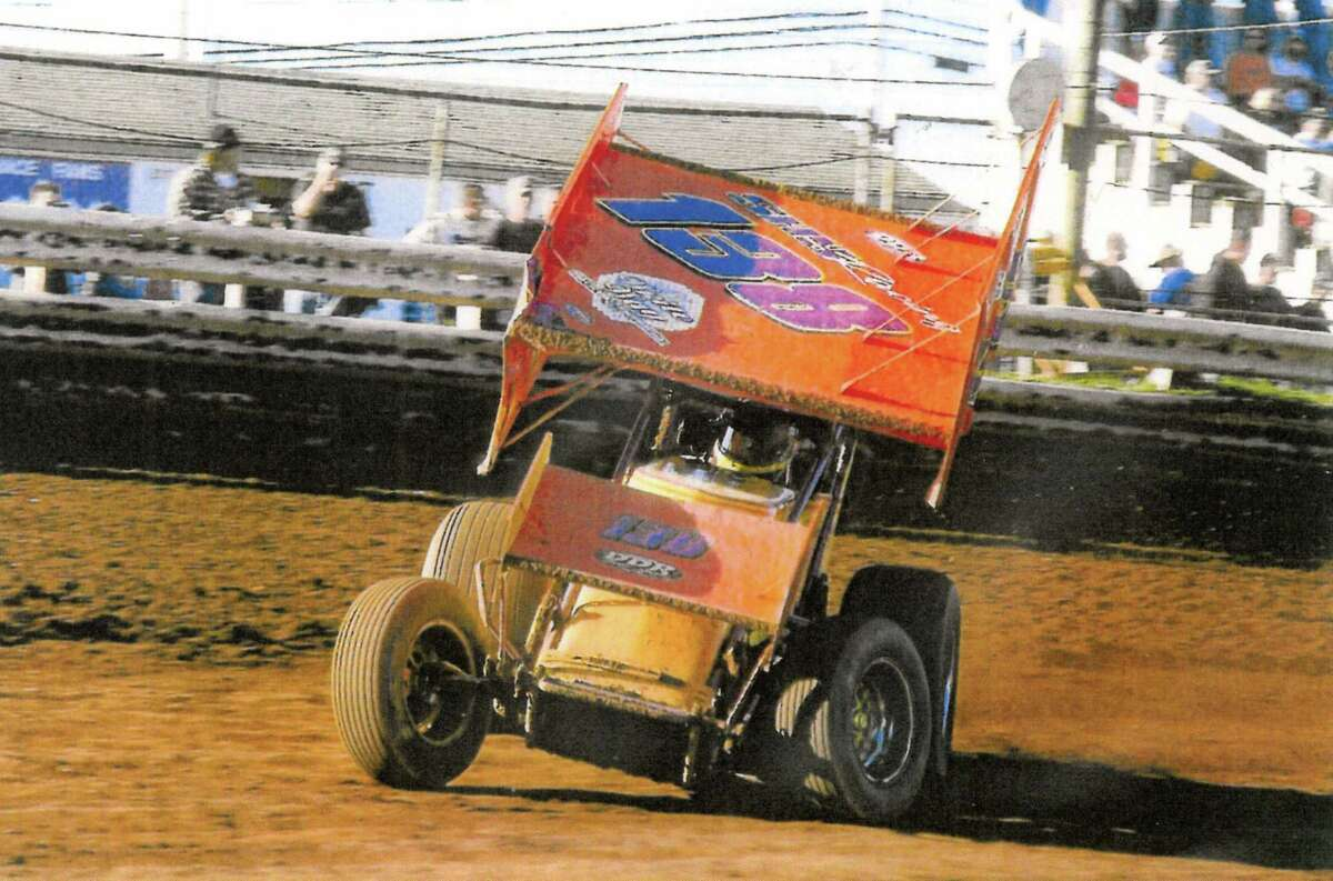 Submitted photo Jay Shypinka's old 360 Sprint car.
