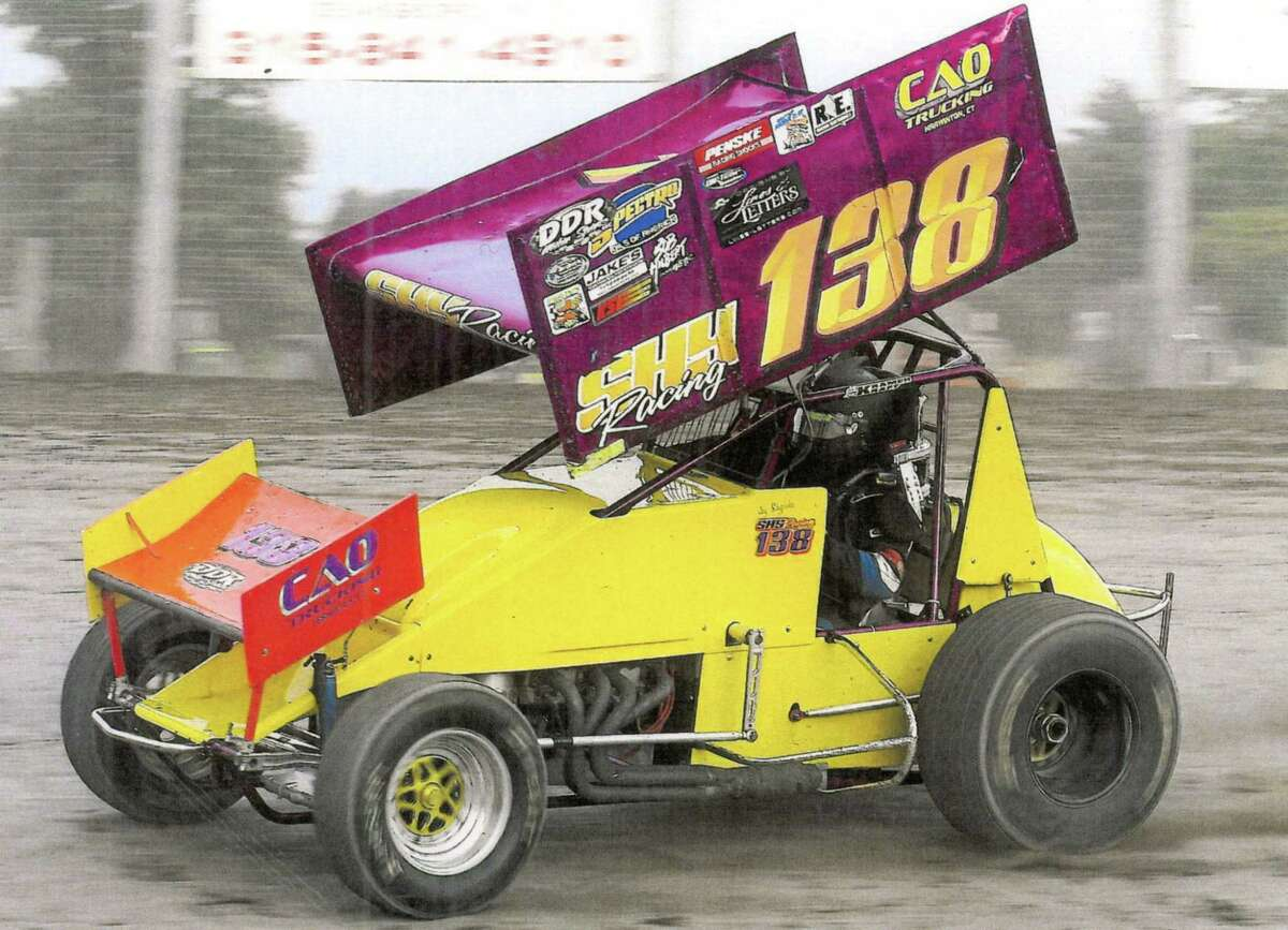 Submitted photo Jay Shypinka's new 360, ready for racing.