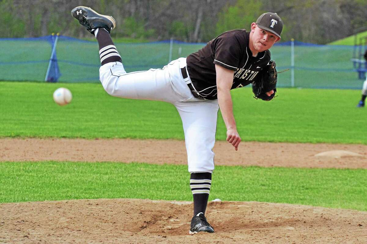 Thomastonís Brian Butkevicius went the distance allowing only three hits and struck out seven batters in the Golden Bearsí 6-0 win over Housatonic.