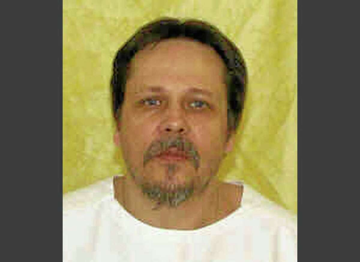 FILE - This undated file photo provided by the Ohio Department of Rehabilitation and Correction shows inmate Dennis McGuire. McGuire was executed Thursday, Jan. 16, 2014, by means of a two-drug lethal injection process never before tried in the U.S. (AP Photo/Ohio Department of Rehabilitation and Correction, File)