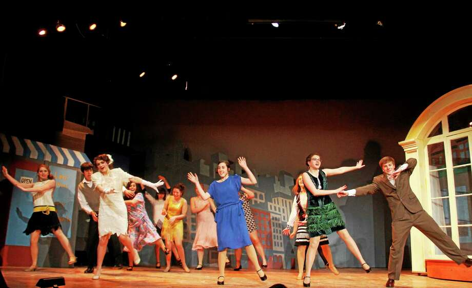 "The cast of ""Thoroughly Modern Millie"". Photo: Journal Register Co."
