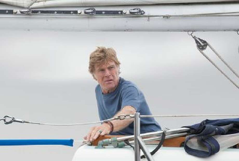 "Robert Redford stars in J.C. Chandor's ""All is Lost.'"