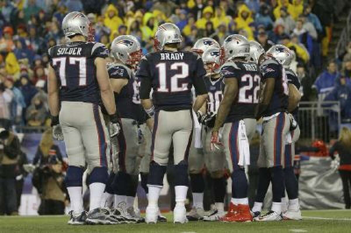 Tom Brady's offensive corps isn't star-studded, but it's gotten the job done.