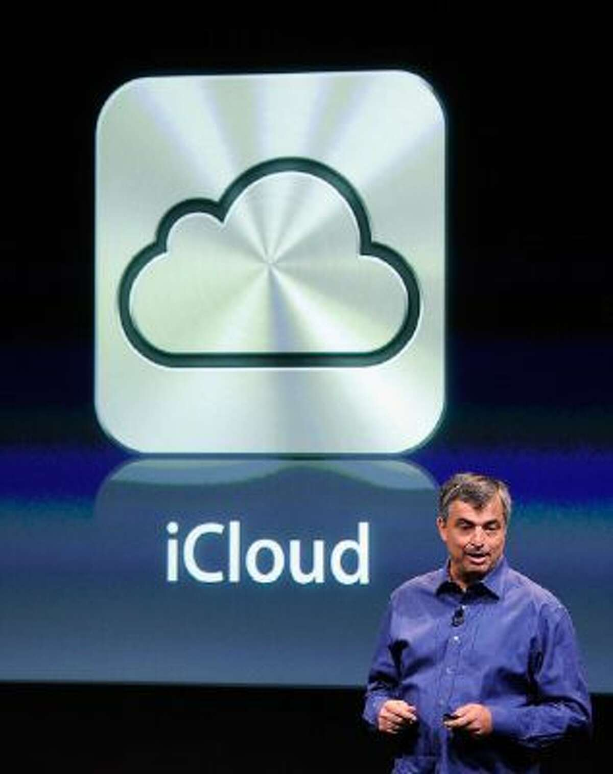 Apple's senior vice president of Internet Software and Services Eddy Cue speaks about iCloud