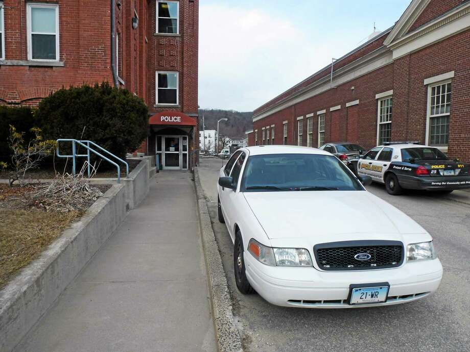 The Winchester Police Department is located at 338 Main Street, next to Town Hall. Photo: Register Citizen File Photo