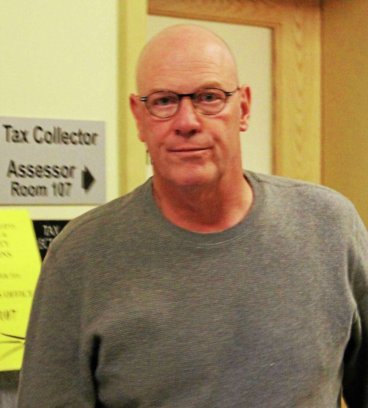 Torrington Tax Collector Robert T. Crovo.