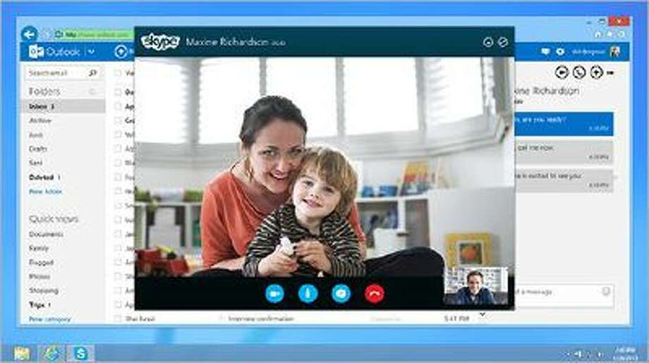 Skype has updated it's iOS7 apps to allow HD two-way calling.