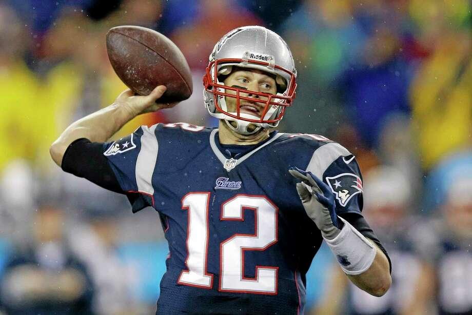 New England Patriots quarterback Tom Brady missed practice on Wednesday. Photo: Stephan Savoia — The Associated Press  / AP