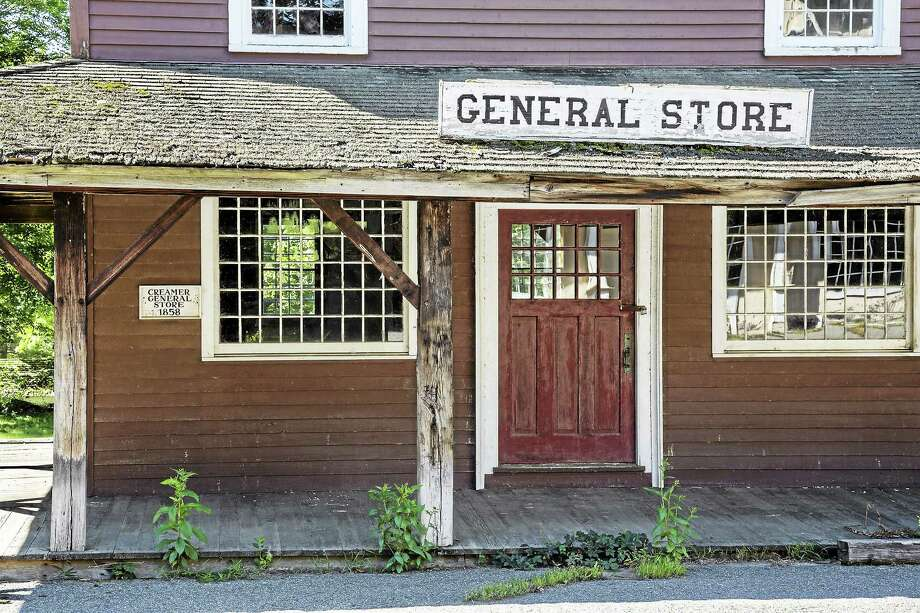 Abandoned for 20 years, the Village of Johnsonville in East Haddam now has a new, unidentified owner, who placed a winning bid Thursday of $1.9 million at Auction.com. Photo: Courtesy Auction.com