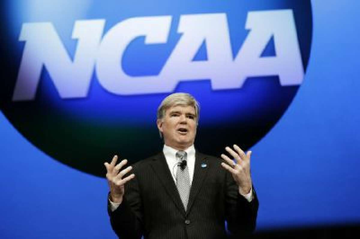 NCAA President Mark Emmert is considering a plan from athletic directors in Division I's major conferences that would shift the power structure in the NCAA.