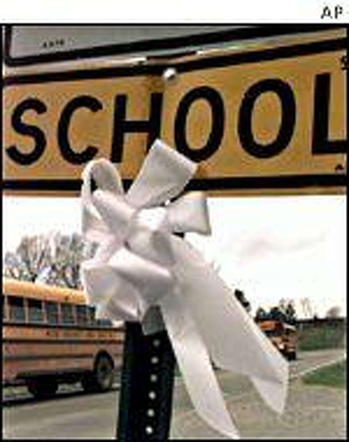 Jonesboro memorial. AP image