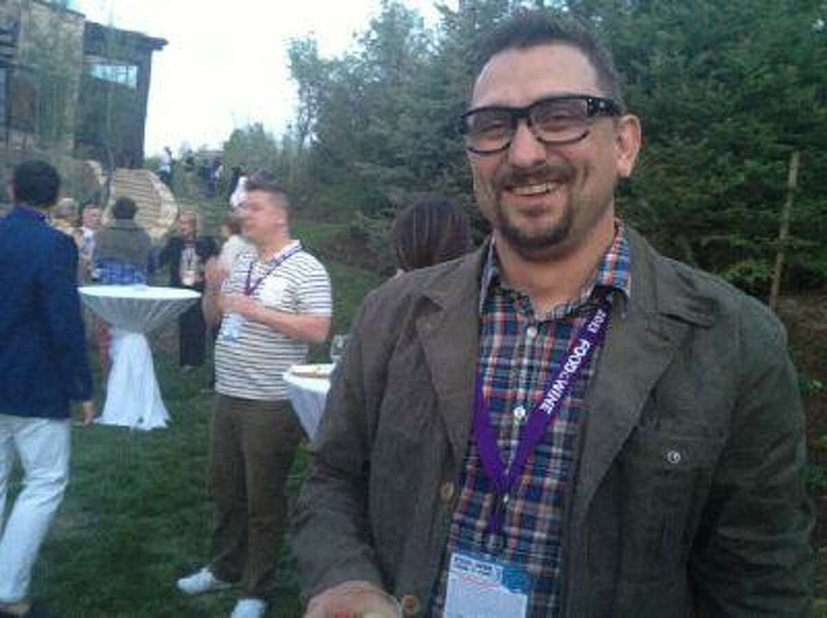 Chris Cosentino, a San Francisco chef with a lot of buzz, used to live in his car in Colorado.