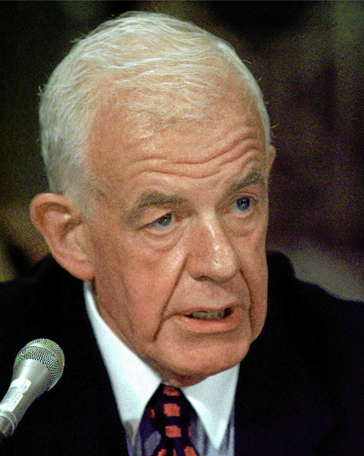 FILE - In this Sept. 24, 1997 file photo, former House Speaker Tom Foley testifies on Capitol Hill before the Senate Foreign Relations Committee hearing on his nomination to become ambassador to Japan.  Foley has died at the age of 84, according to House Democratic aides on Friday, Oct. 18, 2013,  who spoke on condition of anonymity.  Foley was a Washington state lawmaker who became the first speaker since the Civil War who failed to win re-election in his home district.  He was U.S. ambassador to Japan for four years during the Clinton administration. But he spent the most time in the House, serving 30 years including more than five as speaker. (AP Photo/Joe Marquette, file) Photo: AP / ap