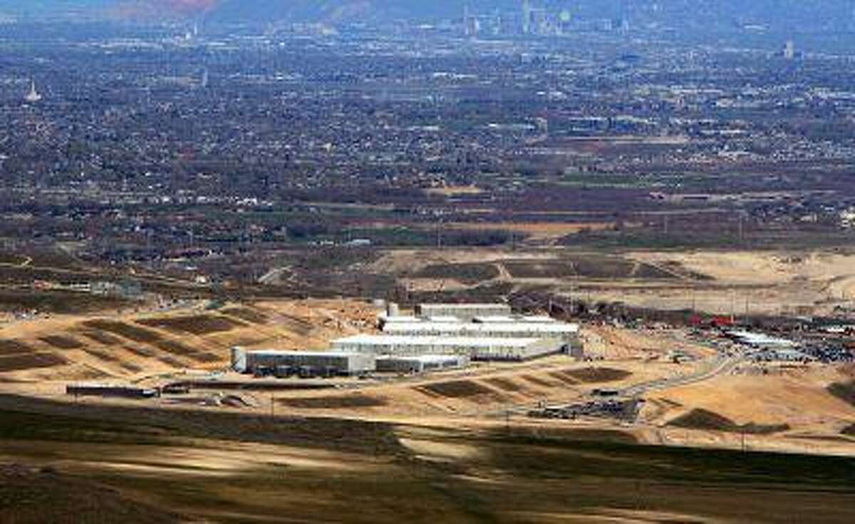 An aerial view of the Utah Data Center is seen in this photo from April 18, 2013.