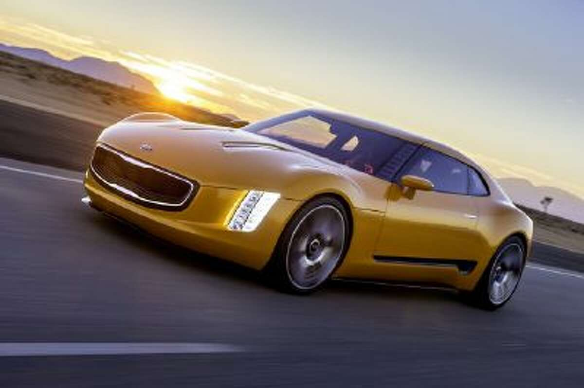 The Kia GT4 Stinger sports car concept will be on display at NAIAS 2014.