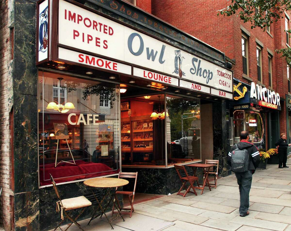 A group of gun rights advocates plan to protest a Republican fundraiser scheduled for Thursday at the Owl Shop on College Street in New Haven. (Peter Hvizdak -- New Haven Register)