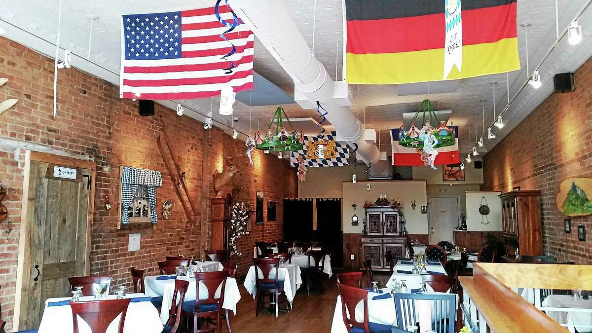 The Alpenhaus restaurant is located at 59 Bank St. in New Milford.