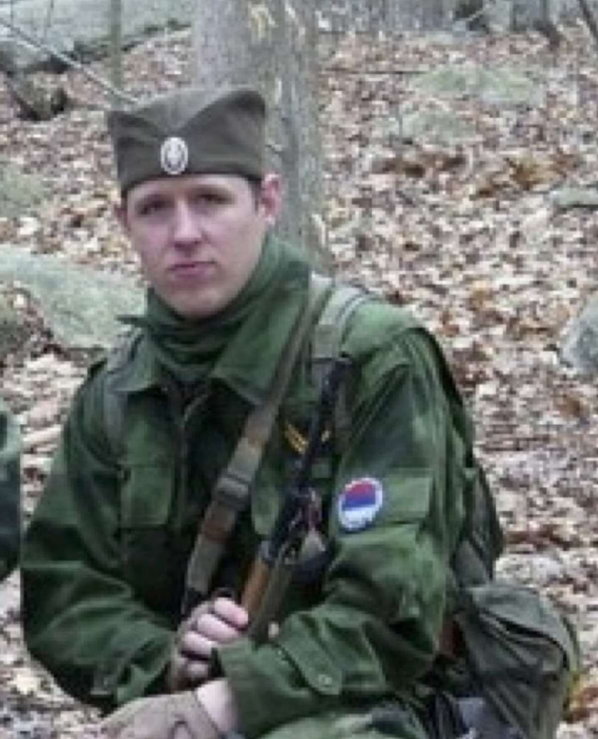 FILE - This undated file photo provided by the Pennsylvania State Police shows Eric Frein, who has eluded police, but is charged with killing one Pennsylvania State Trooper and seriously wounding another in a late night ambush. Authorities said Thursday, Oct. 30, 2014, that they have captured Frein.