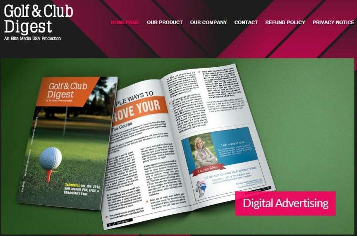 Screenshot from gcdigest.com.