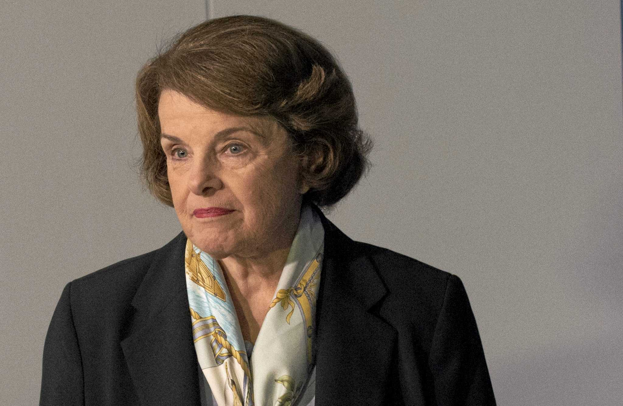 President Trump slammed sneaky Dianne Feinstein Wednesday after the Democratic senator released the transcript of a congressional interview with the