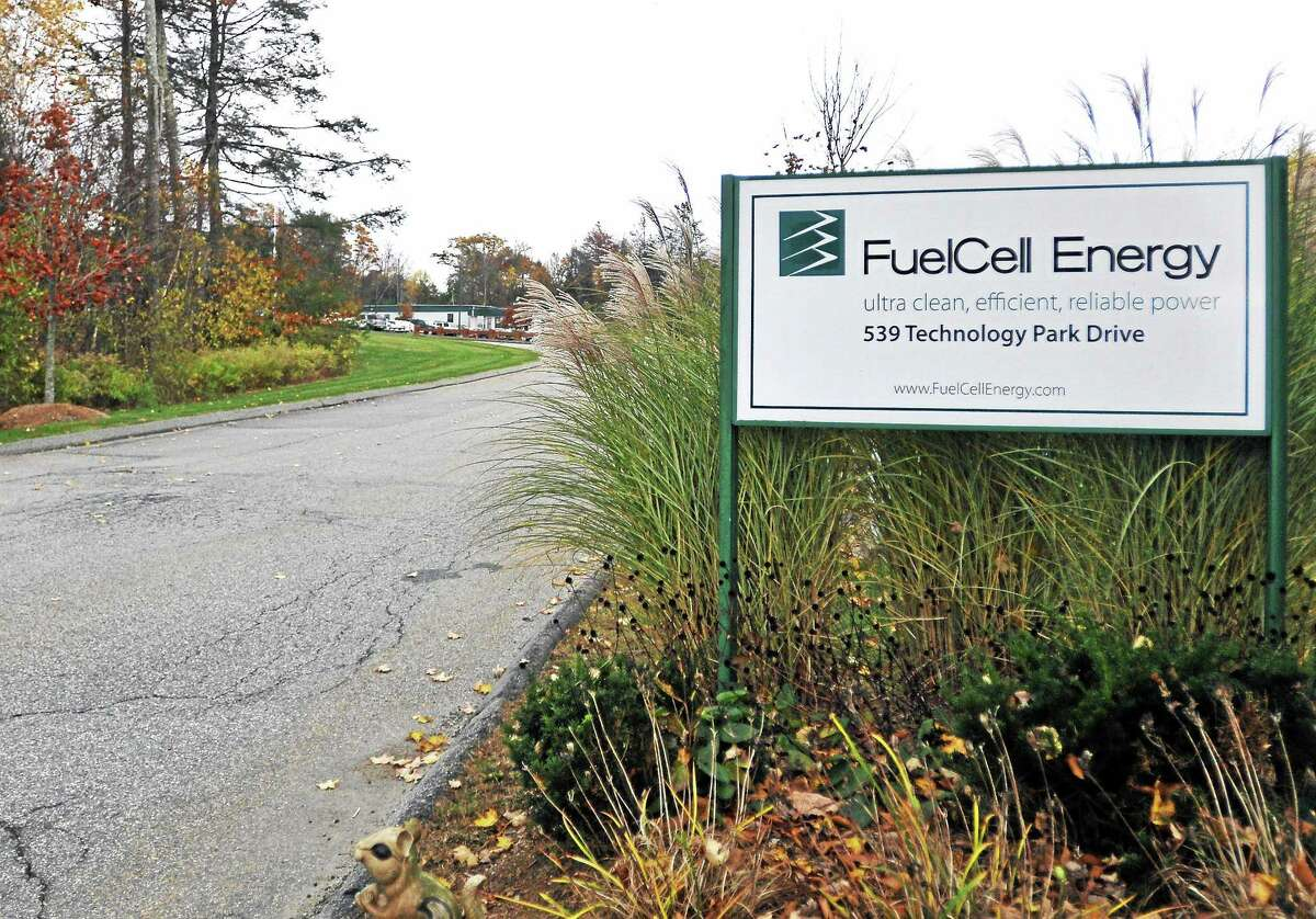 The site of FuelCell Energy's manufacturing facility, located at 539 Technology Park Drive in Torrington, as seen Wednesday.