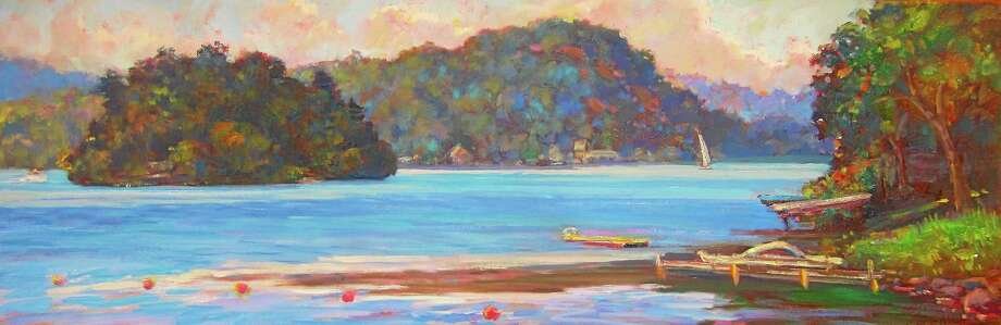 """Images courtesy of the artist Oil paintings included in Catherine M. Elliott's exhibit """"Fresh Paintings."""" They will be on display Nov. 1-Dec. 31 in the Gallery at Kent Memorial Library. Photo: Journal Register Co."""