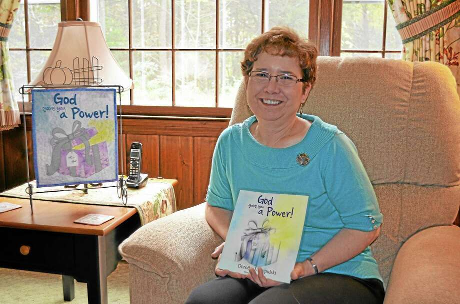"""Dottie Szypulski, of Barkhamsted, published her first children's book, """"God Gave You a Power!"""" in September. Photo: Kate Hartman - Register Citizen"""
