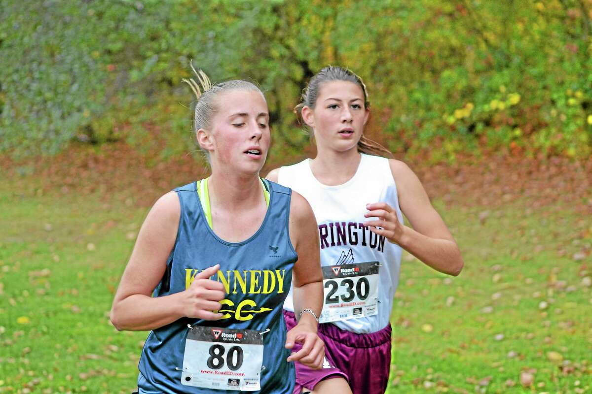 Torrington's Ashlynn Cook had the best time for the Red Raiders girls team, 21:26.95, which was good for 16th place and a spot on the All-Copper team.